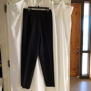 B2308 Koret Black Dress Slacks Pants 8 m